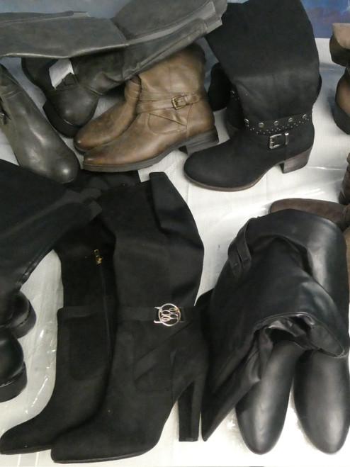 10prs Womens Tall Boots RAILTO bebe STYLE & CO #20764M (j-4-6)