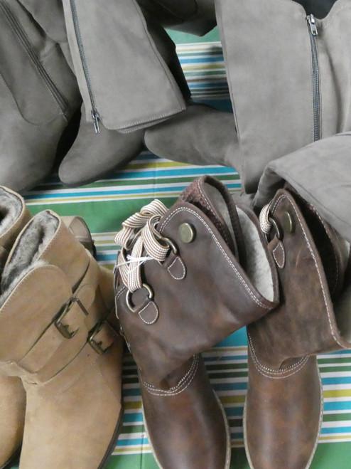14prs Womens Boots Am Rag WHITE MOUNTAIN #20766M (v-6-1)