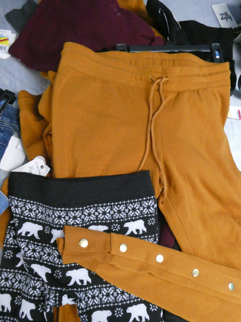 10pc M*CYS Juniors Sweatpants & Leggings #20782P (P-3-6)