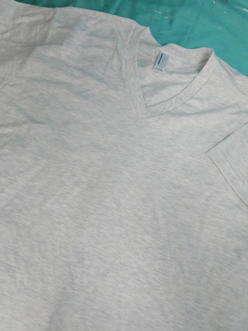 20pc Grab Bag Mens AMERICAN APPAREL Grey Tees LARGE #20877u (m-5-5)