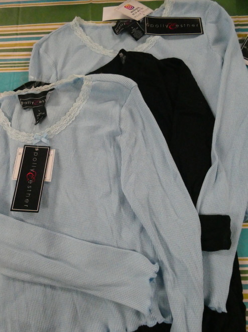 10pc *ONLY POLLY & ESTHER* Juniors Tops ~ 2 STYLES #20786P (L-5-3)
