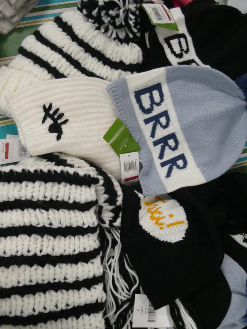 13pc *ONLY Kate Spade* Womens Scarves Gloves & Snow Hats #21016B (H-3-1)