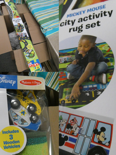 ***PICKUP ONLY!*** 9 SETS! DISNEY Melissa & Doug CITY ACTIVITY RUG Play Sets #21034C