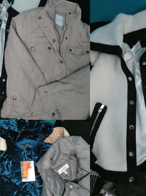 12pc GRAB BAG Big Store Coats & Jackets #21063F (B-8-4/3/2)