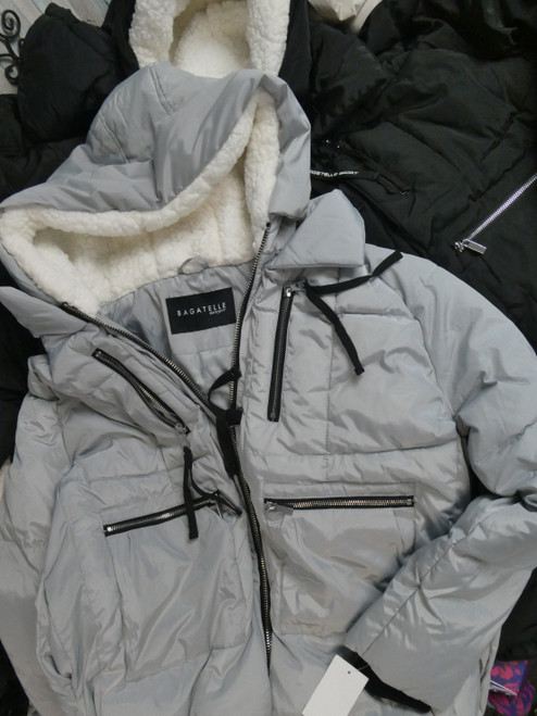 9pc Grab Bag ONLY BAGATELLE Womens Parkas #21069F (B-6-2)