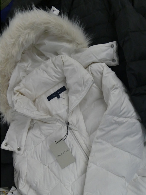 4pc ONLY COLE HAAN Womens Parkas #21071F (O-4-3)