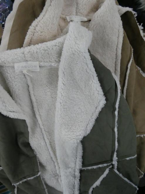 9pc BIG STORE Womens Sherpa-Lined Jackets / Coats #21072F (M-4-3)