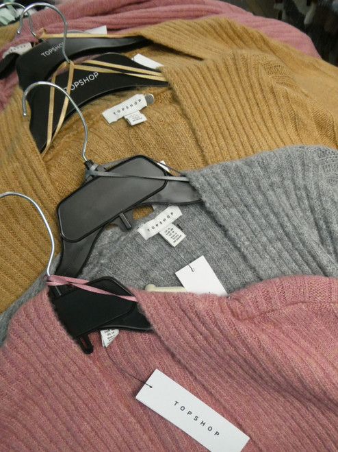 12pc Grab Bag BIG STORE Cardigans / Sweater Jackets #21077F (D-3-3)