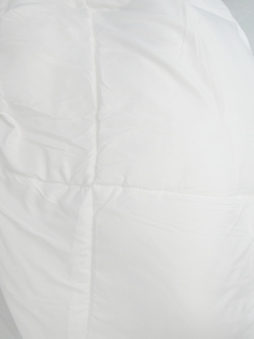 Big Store KING Down Alternative Comforter WHITE #20706G (i-5-5)