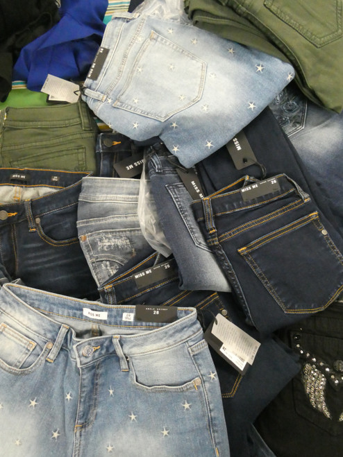 24pc Womens *ONLY MISS ME* Jeans #22051K (B-7-2)