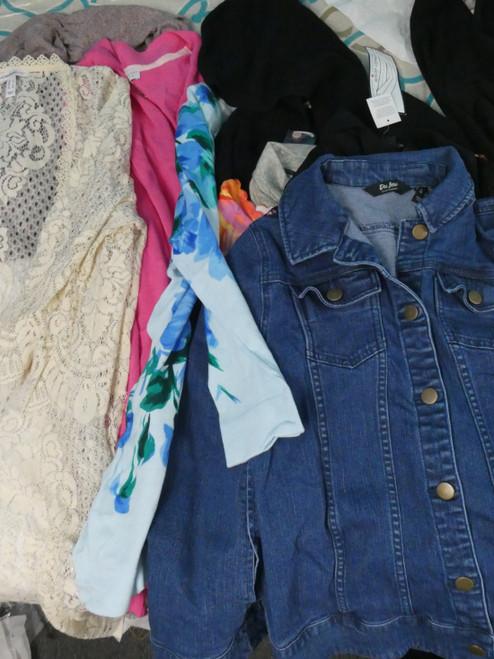 15pc Womens QVC Jackets & CARDIGANS #22080M (P-4-5)