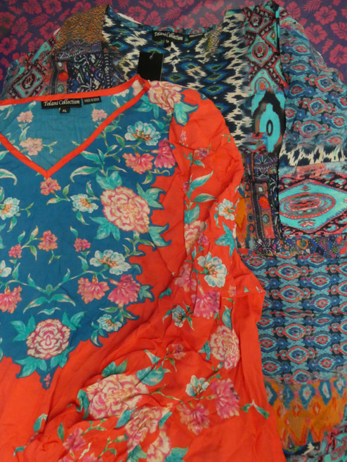 57pc QVC Assorted Womens Tops #22087M (H-5-5)