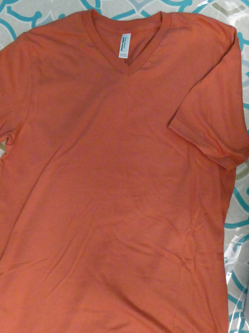 24pc Mens AMERICAN APPAREL Sustainable SIENNA Tees LARGE #22115N (K-5-2)