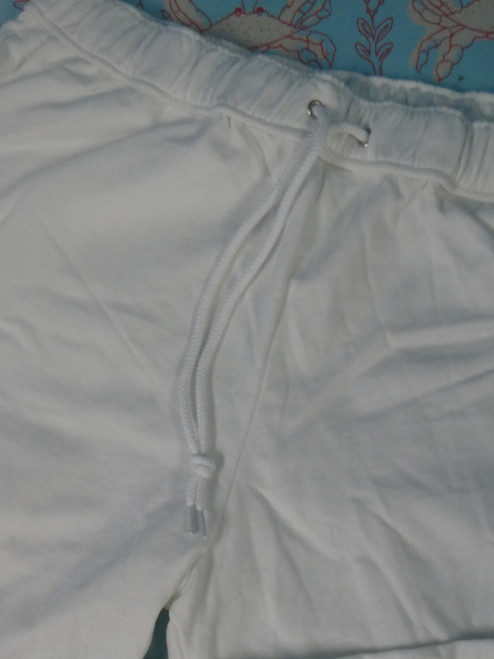 15pc AMERICAN APPAREL Fleece Lined Sweatpants WHITE XXL #22118N (P-1-1)