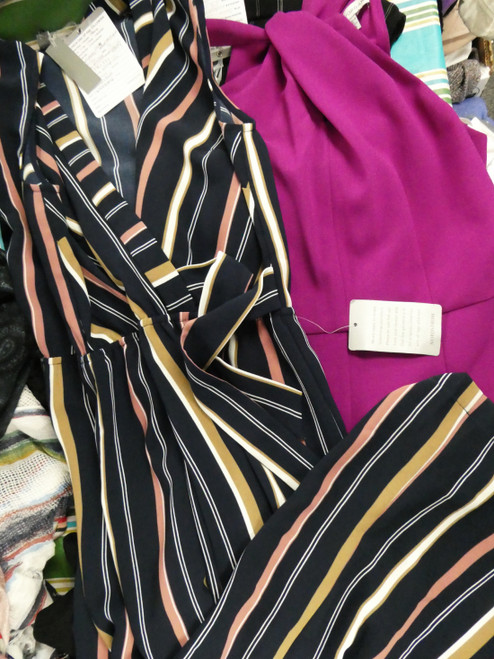 9pc BIG STORE Womens Rompers SIZE 6 / SMALL #22126P (Q-4-3)