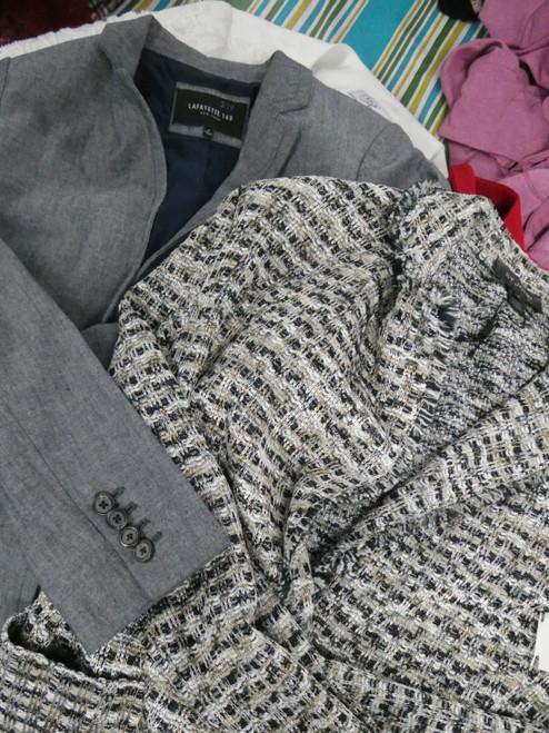 8pc Big Store Blazer Jackets Lafayette St John #22148Q (N-1-6)