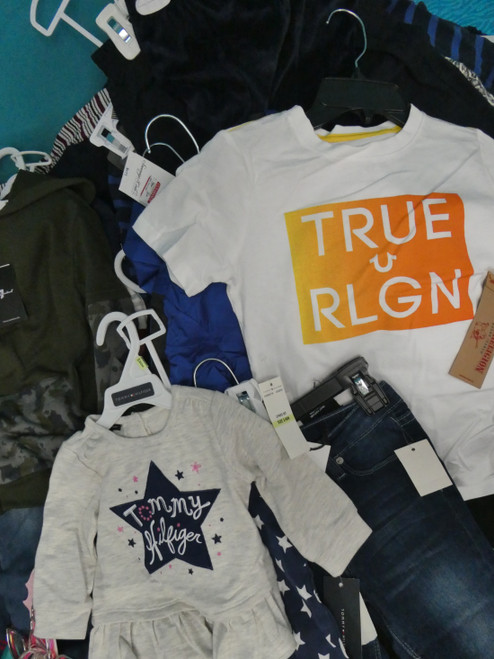 37+pc (45 Total) BL**MINGDALES Kids TRUE RELIGION Tommy & More #22155R (I-5-5)