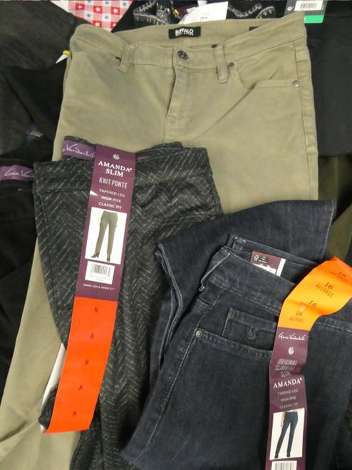 33pc Pants Jeans BUFFALO NYDJ CK Vanderbilt #22236w (M-5-6)