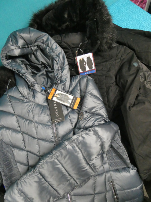 10pc WOMENS COATS 1MADISON Be Boundless HFX #22245w (F-4-7)