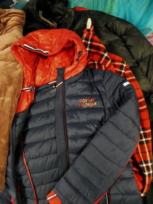 13pc Coats & Jackets! TOMMY HILFIGER Eddie Bauer NAUTICA #22299x (N-5-7)