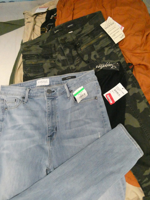 19pc BIG STORE Jeans & Pants #22318z (L-5-6)