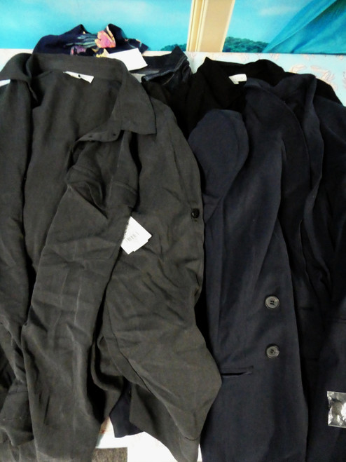 6pc Big Store Jackets SOMETHING NAVY BlankNYC #22330z (L-3-7)