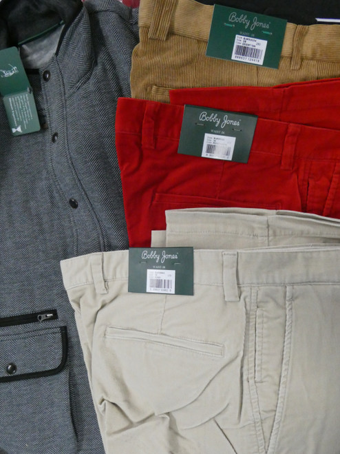 8pc Mens *ONLY BOBBY JONES* Pants & Zip Up #22395d (P-4-6)