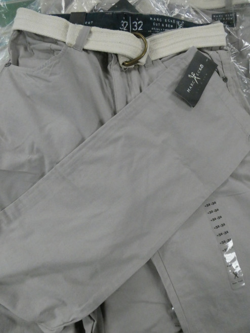 8+pc Mens *ONLY MARC ECKO* Pants w/Belts DUPLICATES #22396d (K-3-6)