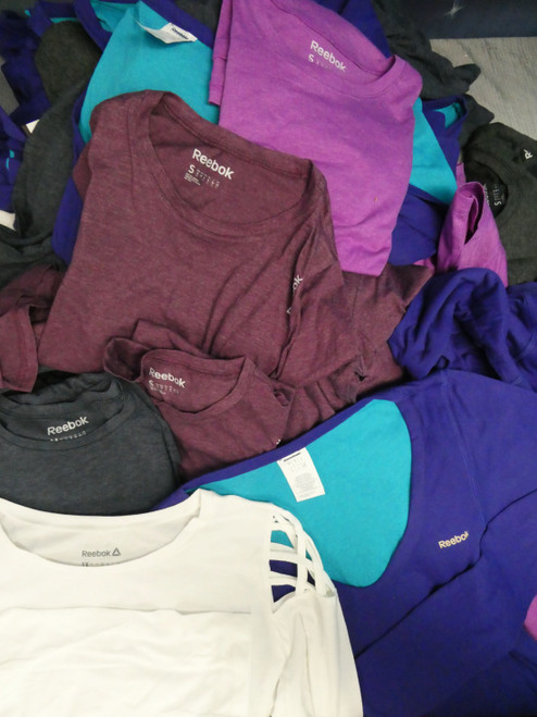 22pc Womens *ONLY REEBOK BRAND* Active Tees #22413d (N-2-6)