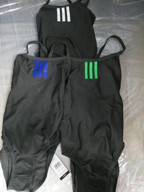 50pc ADIDAS Infinitex One-Piece Bathing Suit 3 COLORS #22416d (B-10-3)