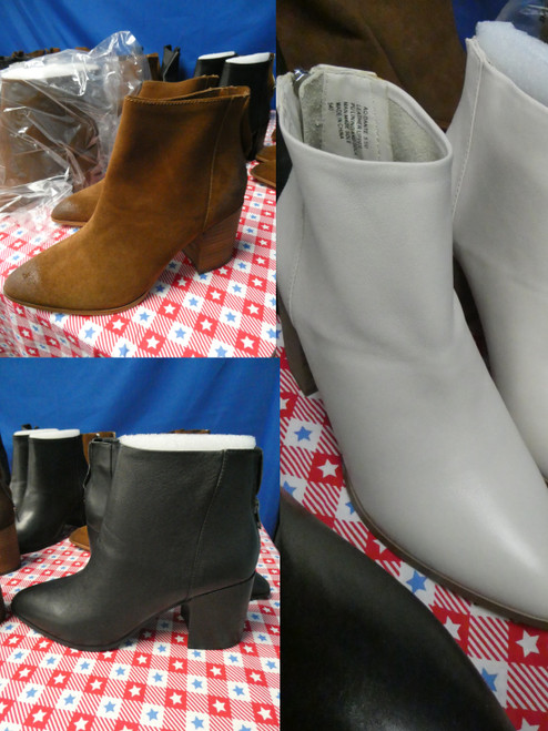 20prs *ONLY AQUA BRAND* Ankle Boots #22458G (X-2-4/5)