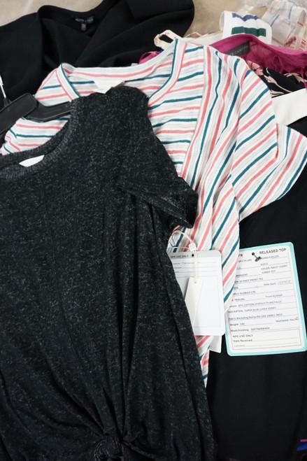 30pc Big Store Womens Short Sleeves & Tanks #22483H (K-1-5)