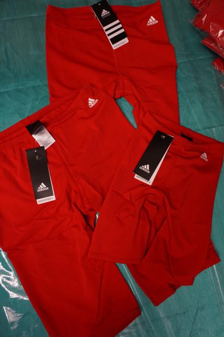 47pc ADIDAS Jammer Swim Trunks RED #22540M (b-4-5)