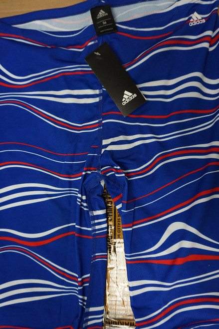 36pc Mens ADIDAS Elevate Jammers Red White Blue #22547M (n-3-2)
