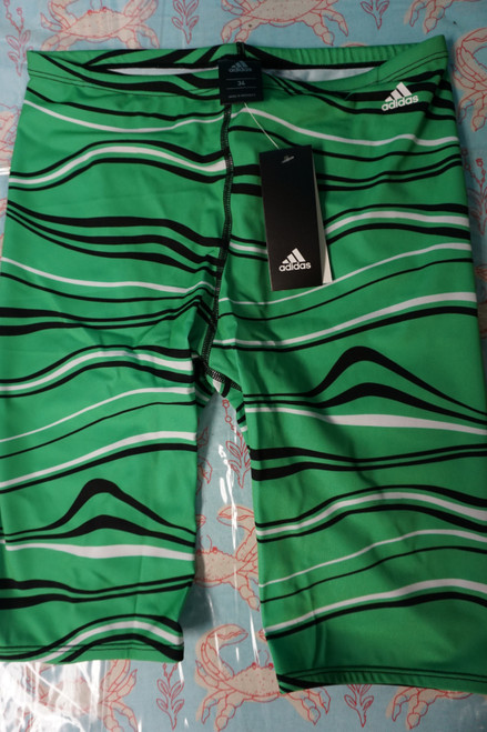 35pc Mens ADIDAS Elevate Jammers Green #22549M (X-5/4-4)