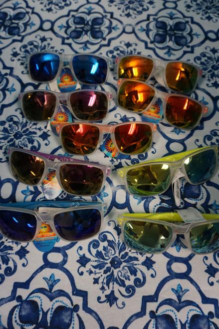 54pc Womens High Quality SUNGLASSES Mirrored Lens #22582N (W-1-2)