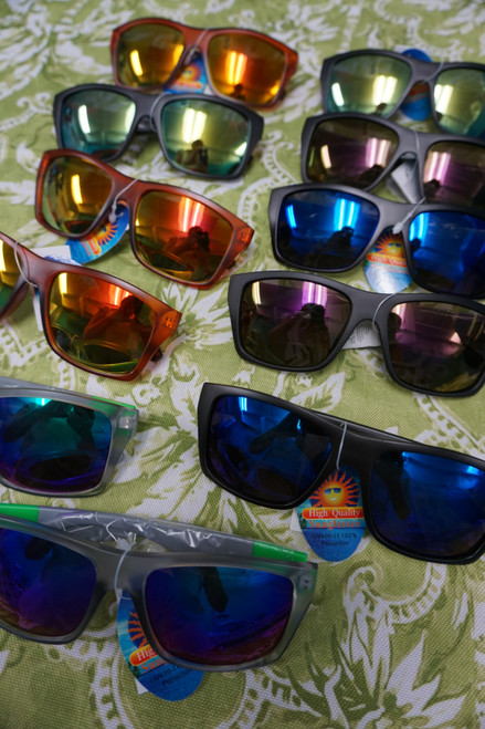 54pc Unisex Mirror Sunglasses (Womens & Older Youth) #22588P (W-1-2)