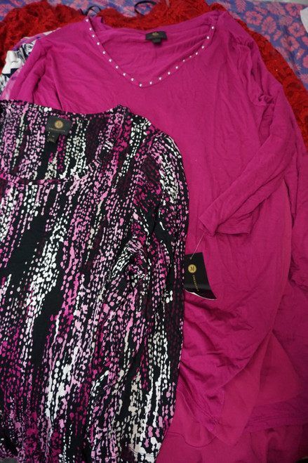 24pc M*CYS PLUS SIZE Tops & Dresses #22597P (Y-2-4)