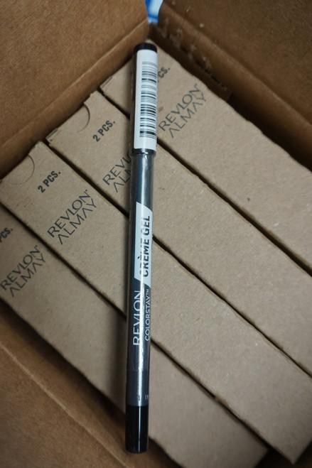 48pc REVLON ColorStay Creme Gel Liner BLACK #22670u (q-4-5)