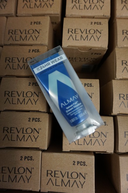 96pc ALMAY Velvet Foil Cream Shadow LUNAR DISCO Blue #22682u (g-4-2)