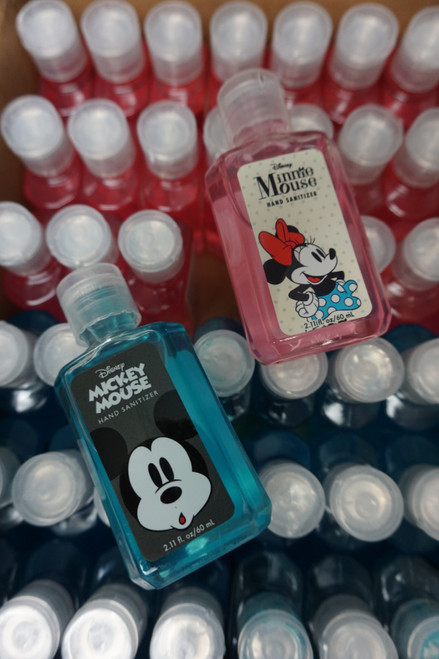 144pc Disney Mickey & Minnie Travel Hand Sanitizers #22747Y (i-1-1)