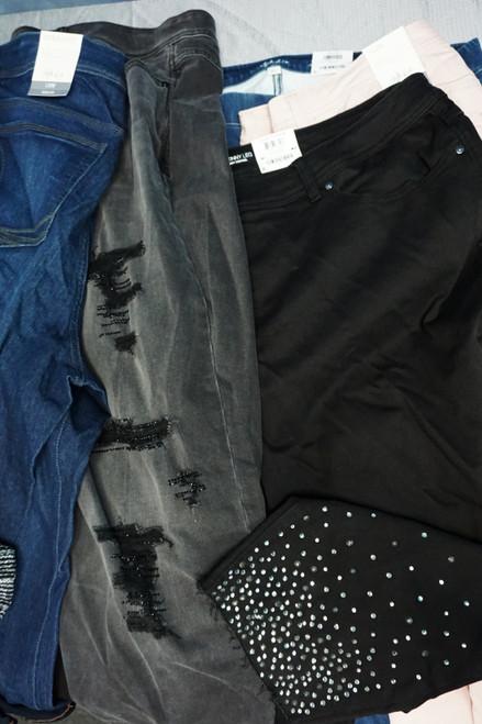 27pc PLUS SIZE Jeans & Pants INC Alfani #22804A (Y-4-6)