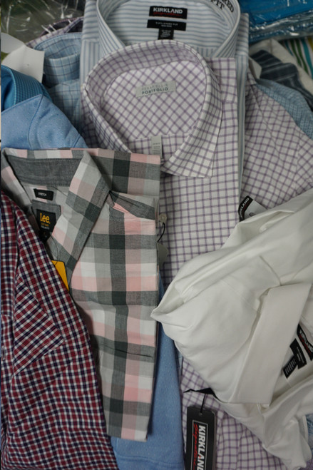 51pc Mens Designer Dress Shirts #22894E (V-2-2)