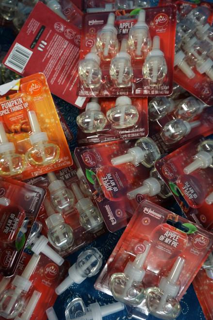 23+ SETS = 76pc AIR WICK Febreze GLADE Plug in Oil Bulbs #22907E (z-4-5)