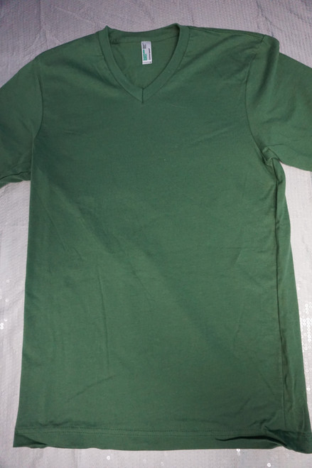 15pc Mens AMERICAN APPAREL Sustainable GREEN Tees 2XL #22961G (h-5-5)