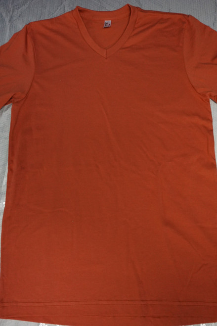 30pc Unisex AMERICAN APPAREL Tees RUST S & XL #22967G (v-7-3)