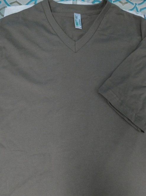 40pc Unisex AMERICAN APPAREL Tees BROWN S M XL #22970G (u-1-2)