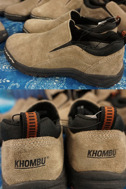 8prs Mens KHOMBU Lace-Free Sneaker SLIP RESISTANT TREAD #23017L (X-5-3)