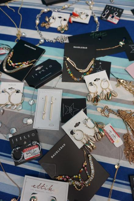 41pc BL**MINGDALES Jewelry KATE SPADE Aqua #23042M (Q-1-4)