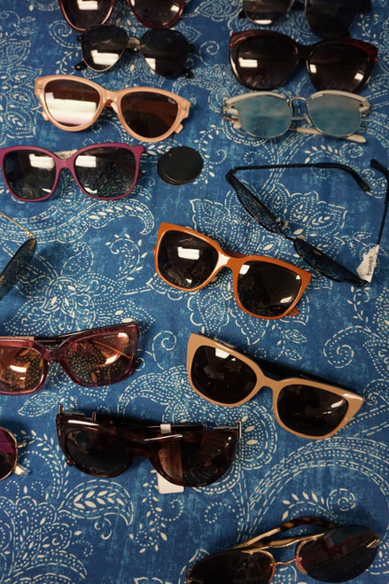 15pc Sunglasses! Armani TODS Tory Burch CAVALLI Karen Walker Filipe  #23045M (Q-1-3)